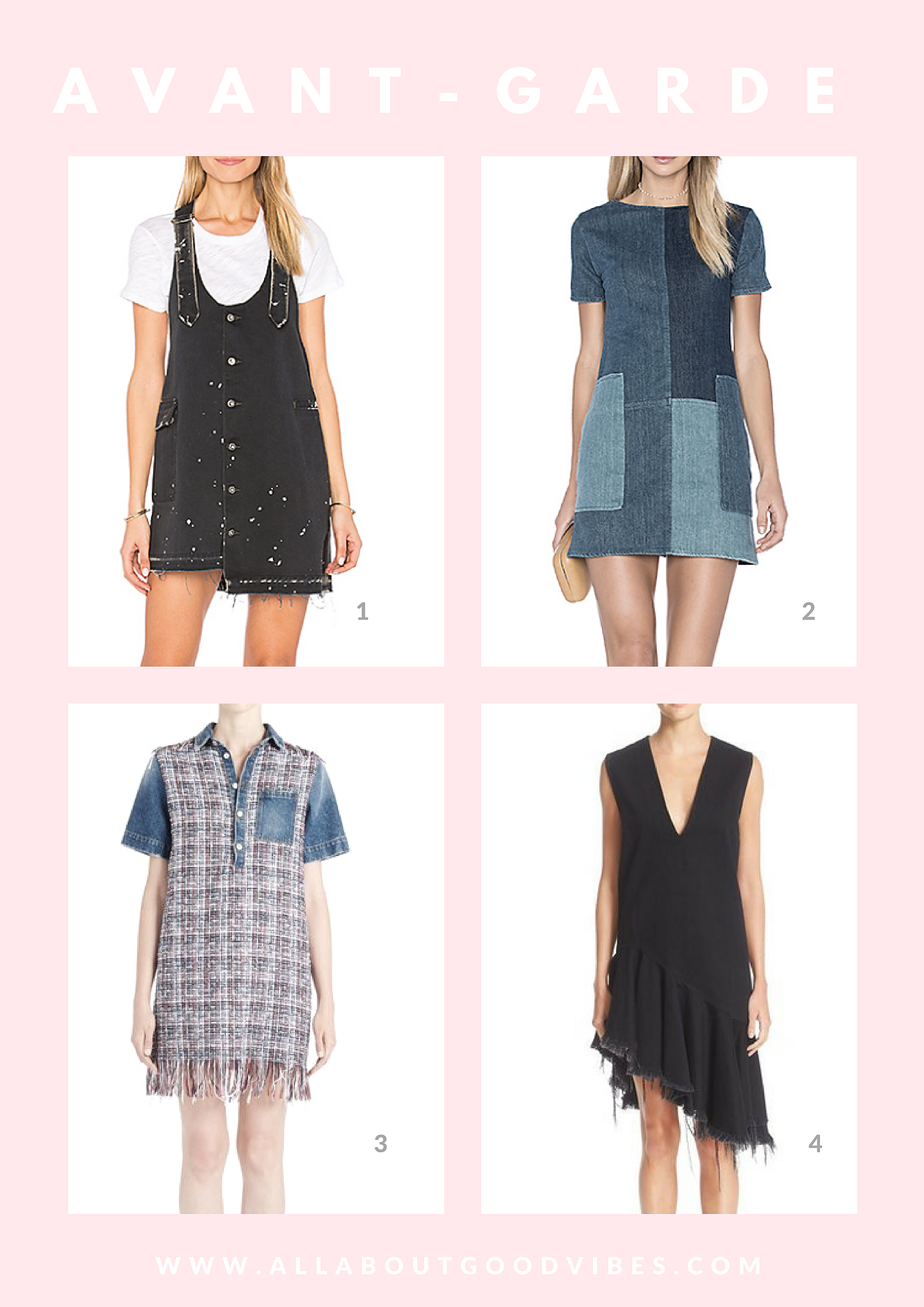 Denim Dress For Your Fashion Personality Type All About