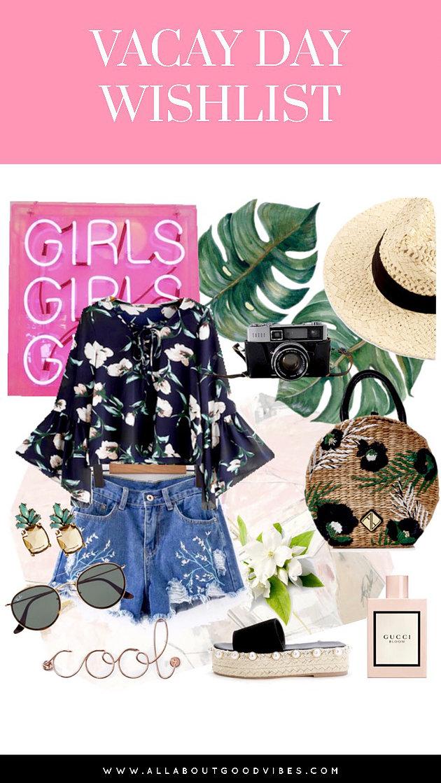 Summer Vacation Wishlist