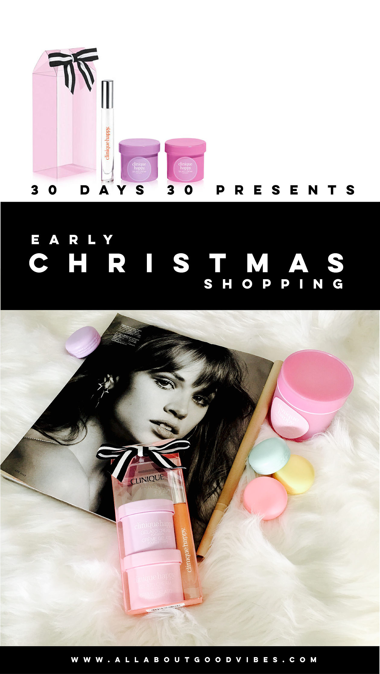 """""""Early Christmas Shopping   30 days 30 presents""""   Day 25: Clinique Treat Yourself Always Happy Set"""