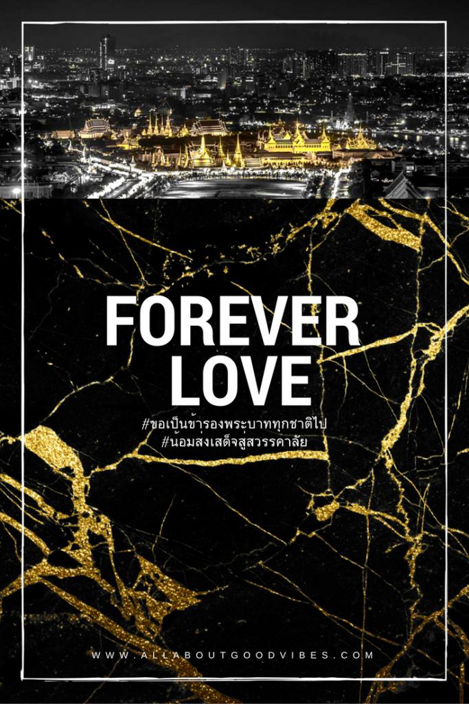 Forever Love #KINGRamaIX #ขอเป็นข้ารองพระบาททุกชาติไป #น้อมส่งเสด็จสู่สวรรคาลัย