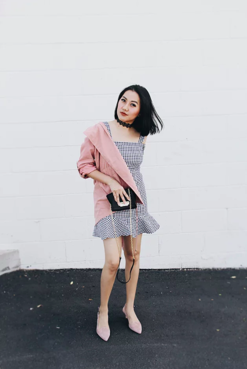 c0b20bb2ae6 How To Style A Gingham Dress From Casual To Formal Occasion - All ...
