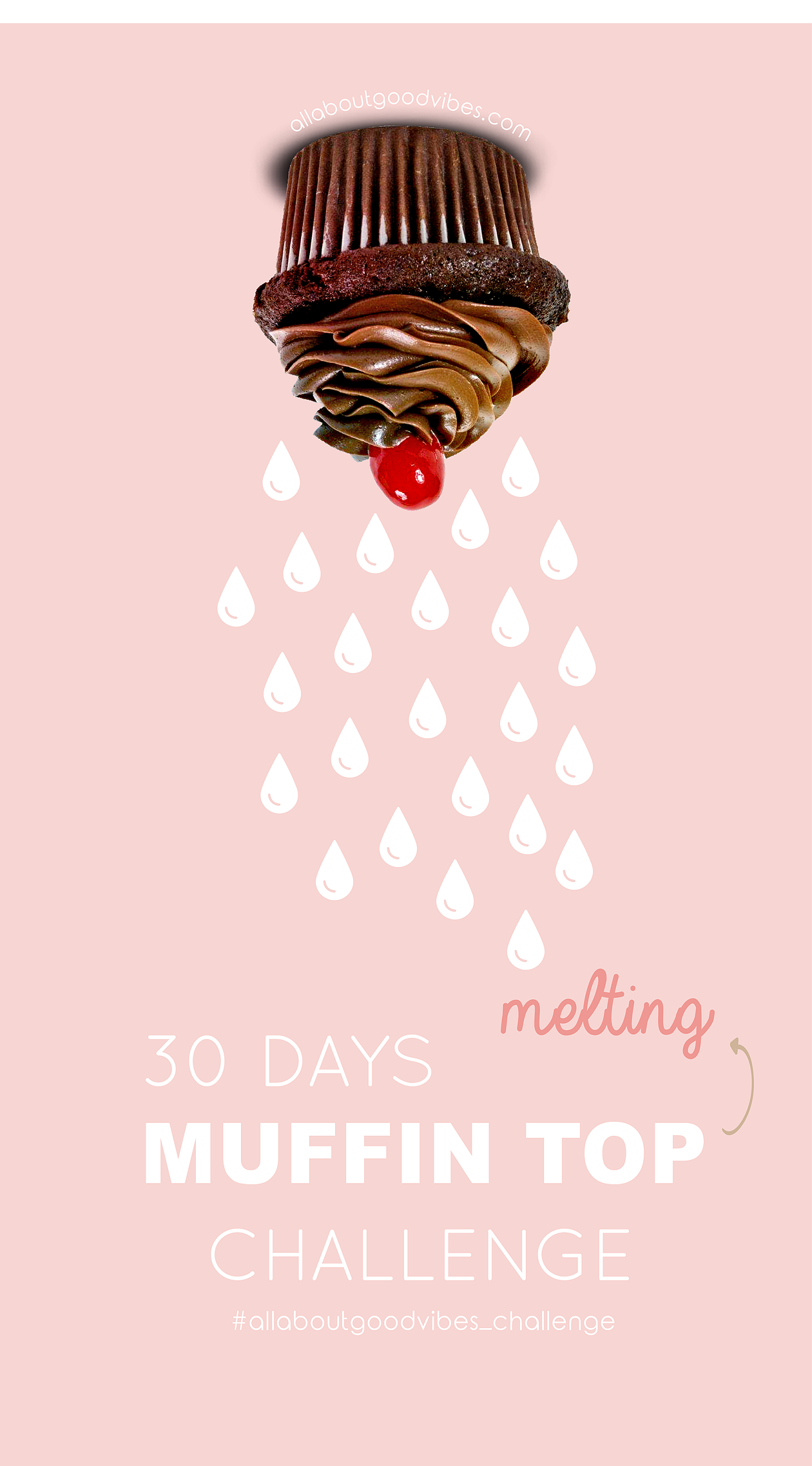 30 Days Muffin Top Challenge Free Printable Download @Allaboutgoodvibes