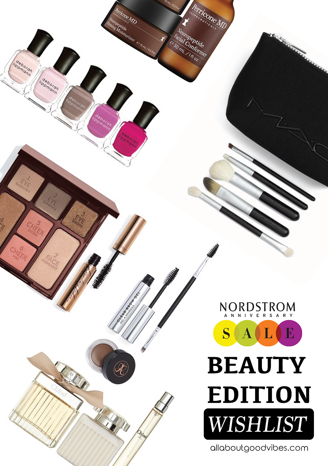 My Shopping List at Nordstrom Anniversary Sale 2016 | Beauty Edition