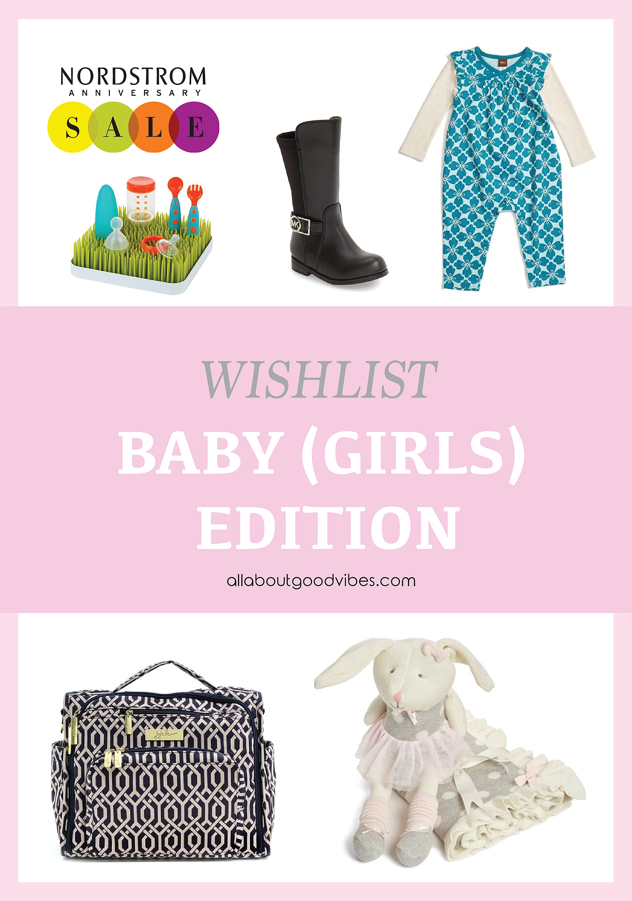 My Shopping List at Nordstrom Anniversary Sale 2016 | Baby (Girls) Edition