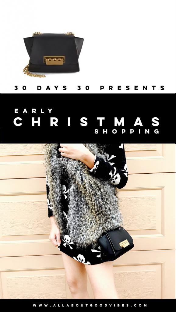 """Early Christmas Shopping | 30 days 30 presents"" | Day 26: Zac Zac Posen Mini Eartha Crossbody"