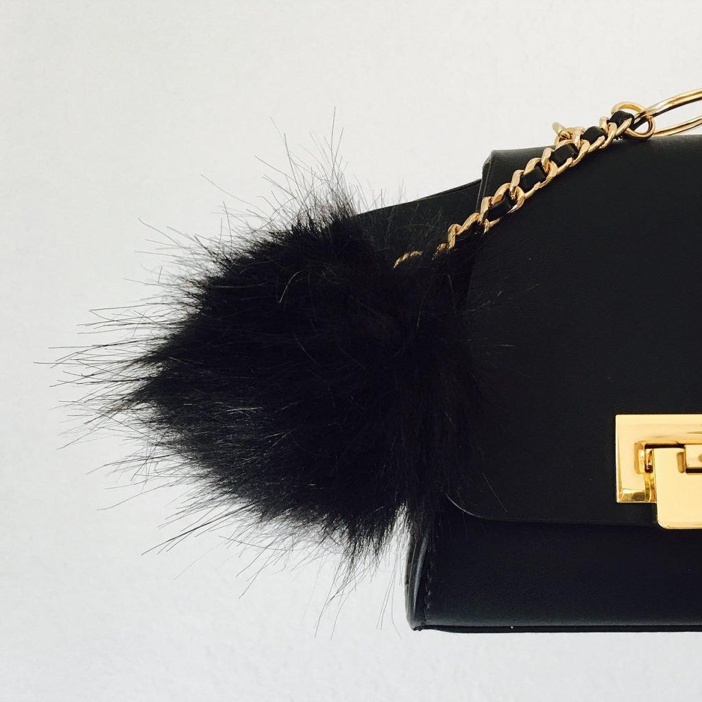 """Early Christmas Shopping | 30 days 30 presents"" | Day 6: Fur Pom Pom keychain/ bag charm"
