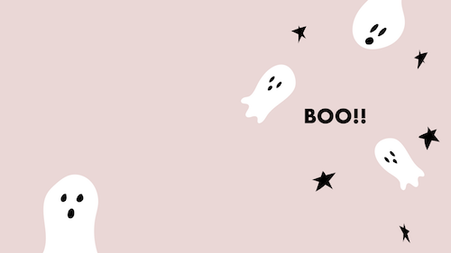 BOO! Halloween-Wallpaper