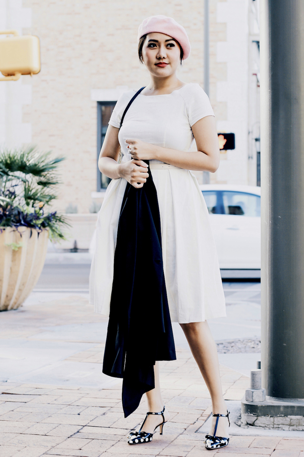 Holiday Outfit Ideas | White Dress