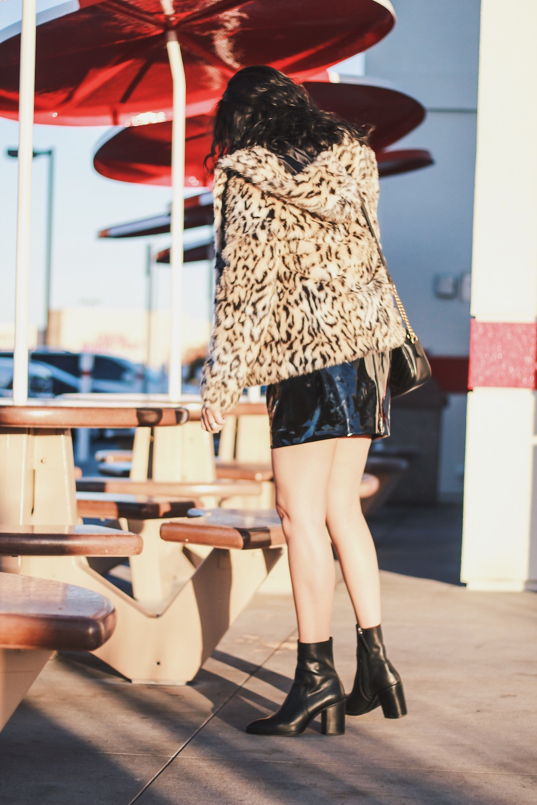 Leopard-Print-Jacket-Patent-Skirt-Ankle-Boots-Allaboutgoodvibes.com_Molly Larsen