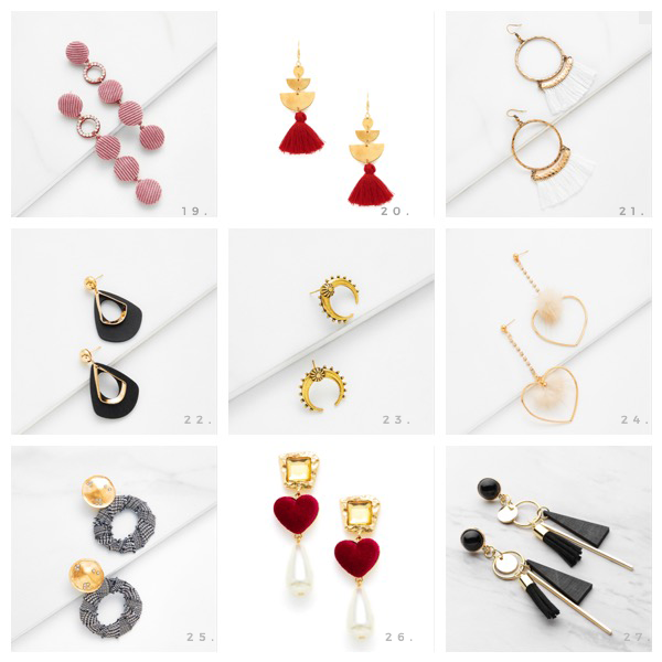 Statement Earrings for A Small Budget | Three Tips to Wear Statement Earrings