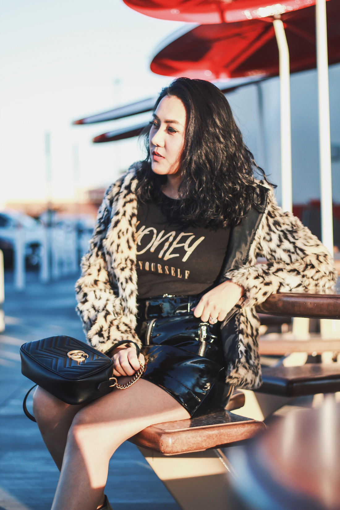 Winter-Outfit-Honey-Be-Yourself-Graphic-Tee-Fashion-Blogger