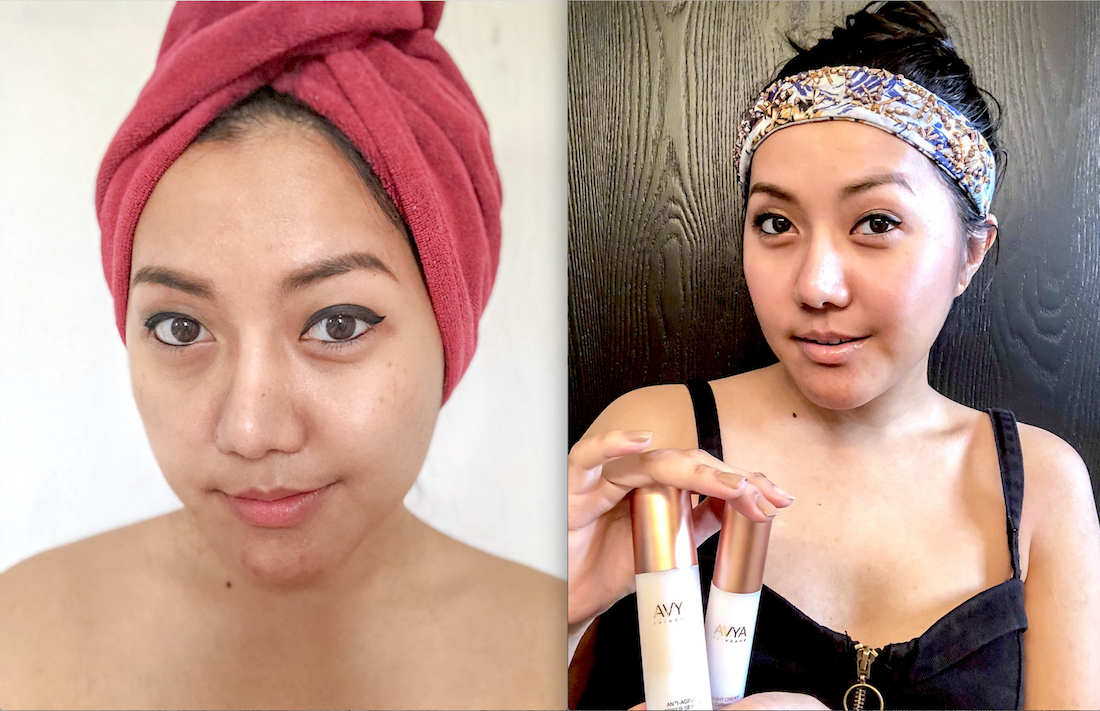 AVYA Beauty Review-Luxury Anti-Aging Skincare Line For Every Women, All Skin Tones-Allaboutgoovibes.com-IG-@Thevibescloset-Before-After 7 Days