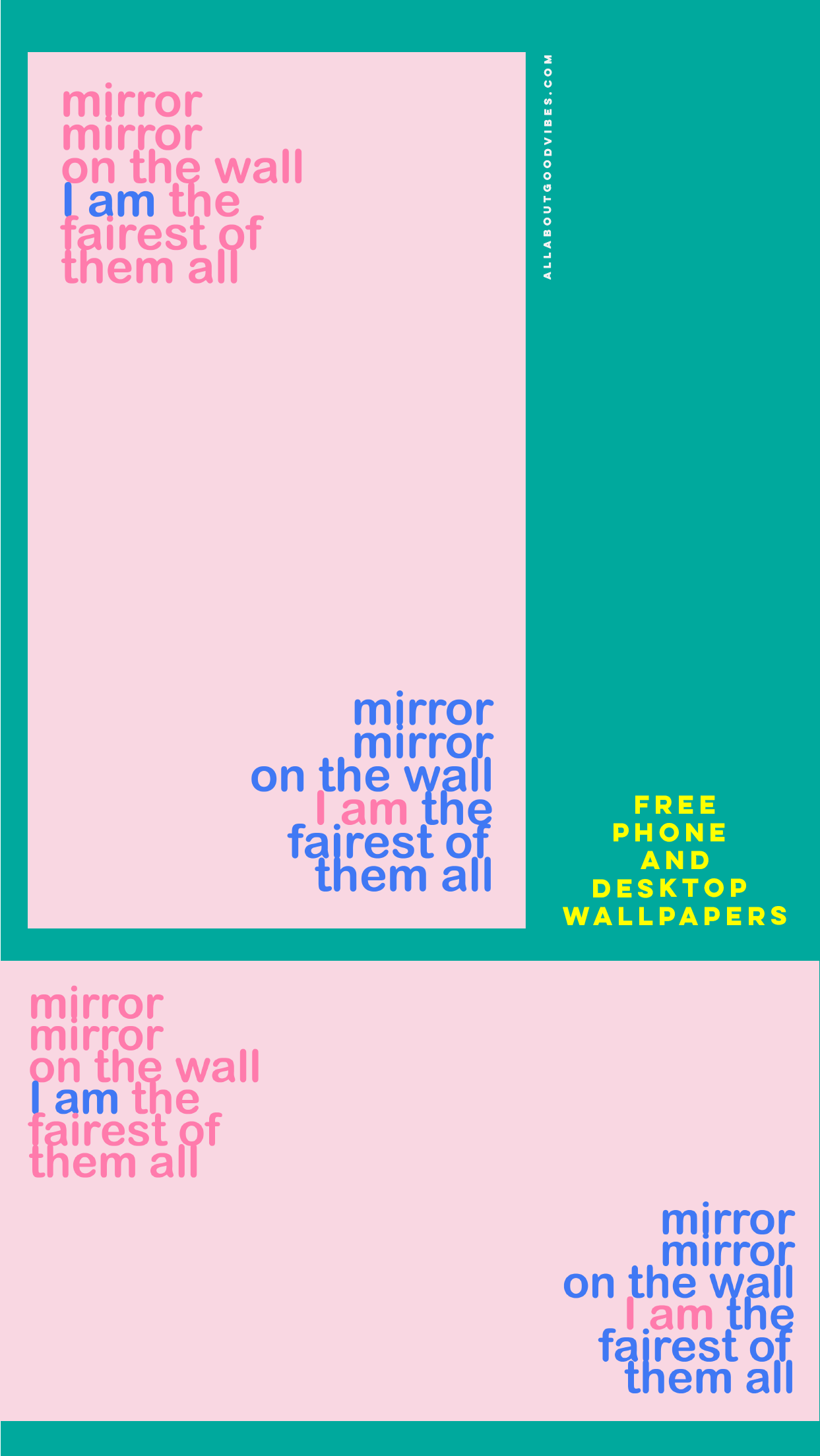 Mirror on the wall Free Download Phone and Desktop wallpapers
