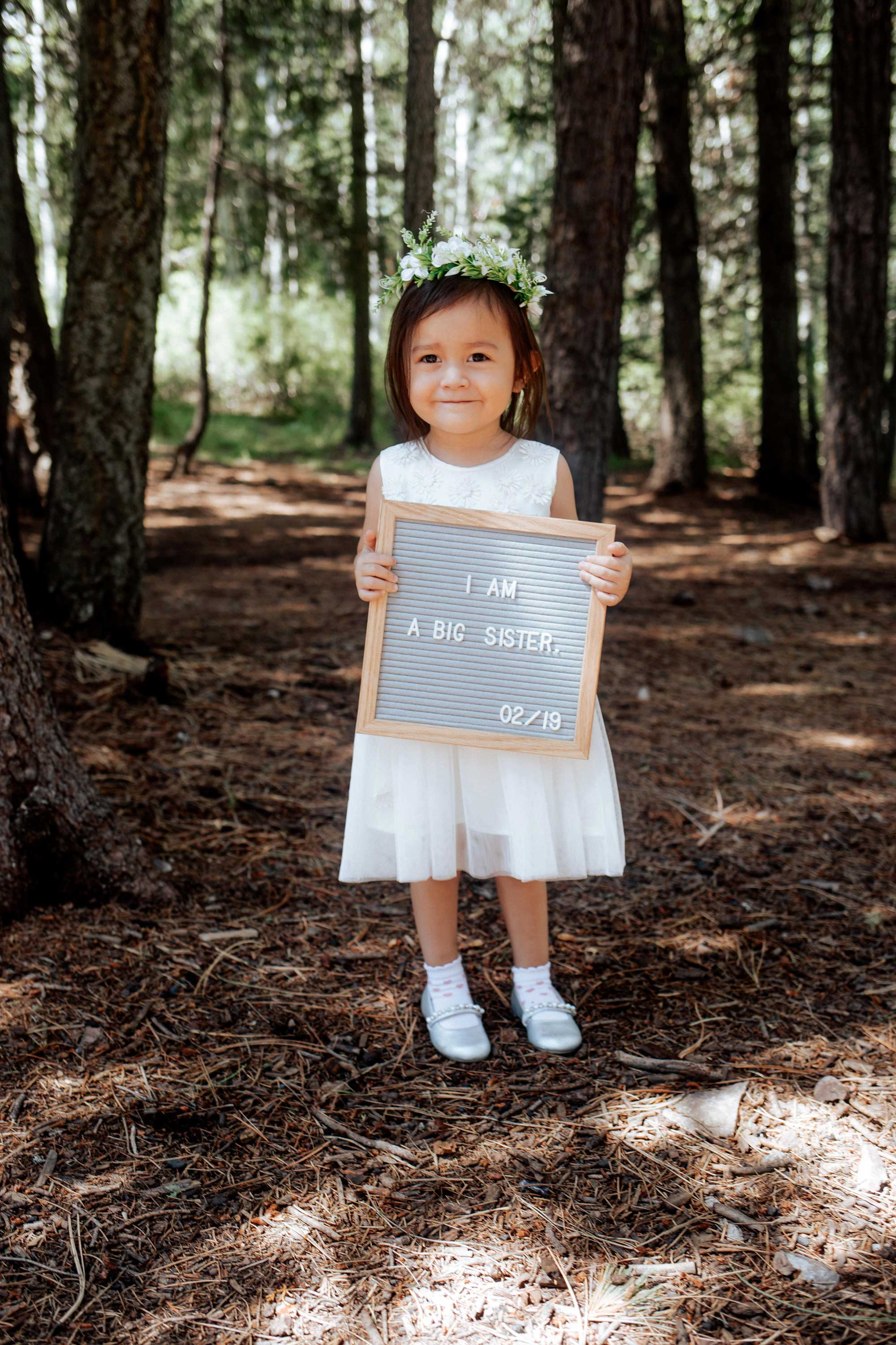 Pregnancy Announcement Baby Number 2_TheVibesCloset_Molly Larsen's Daughter_I'm a big sister_Style Blogger_1