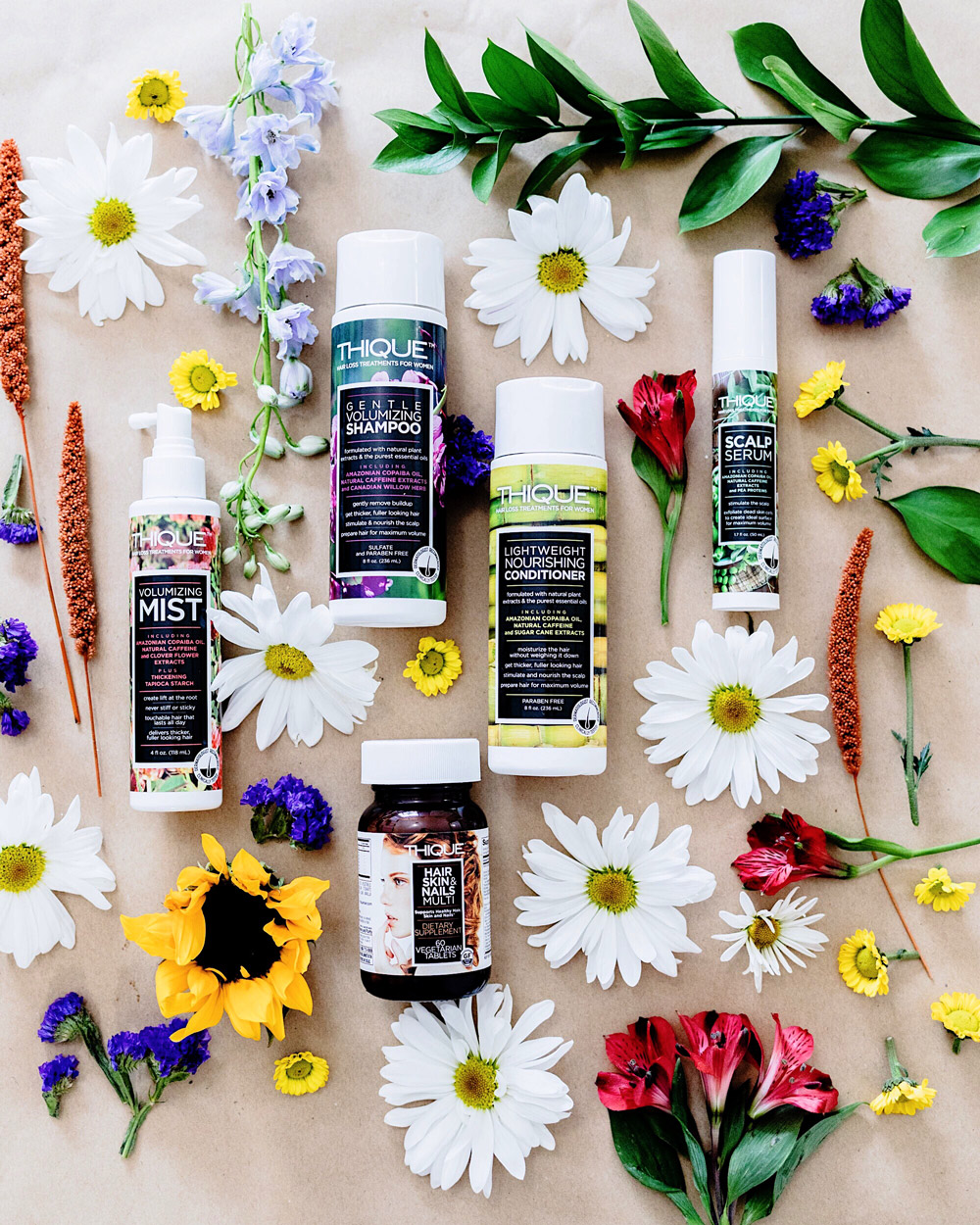 Self-care can start with your hair   THIQUE Hair Care Product Review
